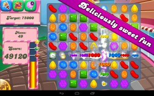 candy crush app store