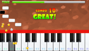 game piano