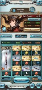 My current Tiamat killing grid. For the record I main Wind, but I like Fire better 'cos it's all fiery and stuff
