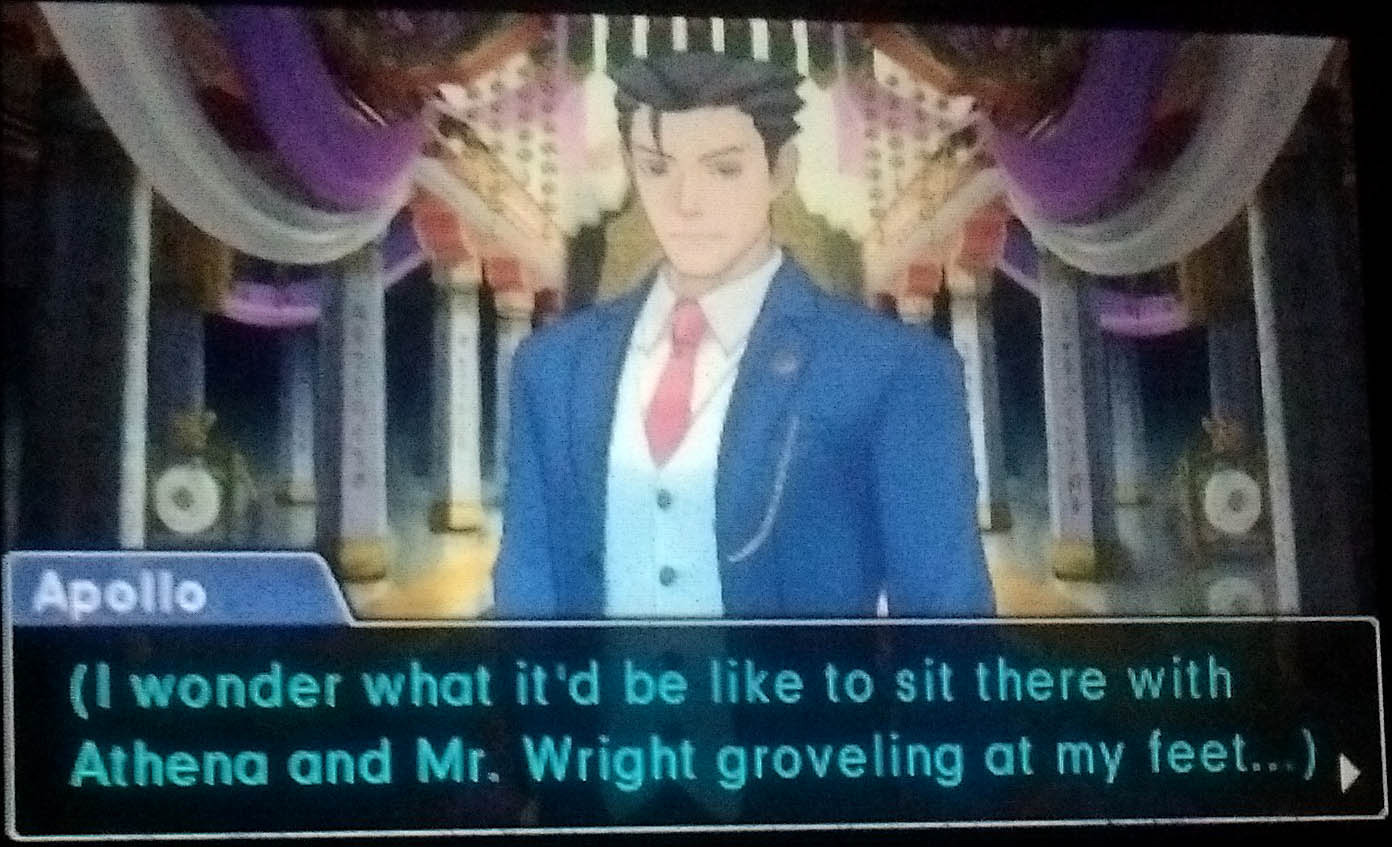 Finished Ace Attorney: Spirit of Justice (massive ending spoilers