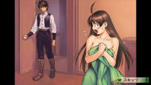 "Obligatory ""Kyaa~ Oniichan, you pervert!"" scene."