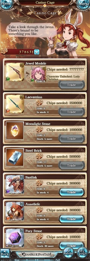 granblue fantasy casino